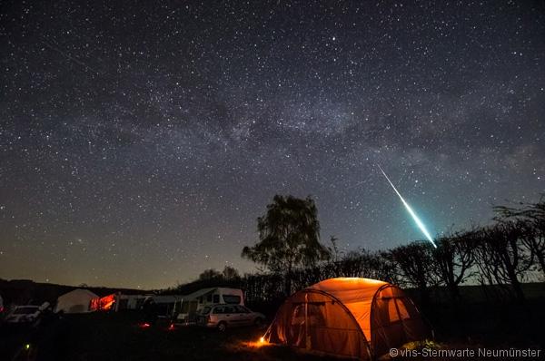 Eine Feuerkugel auf dem MTT - Fotograf: Uwe Freitag