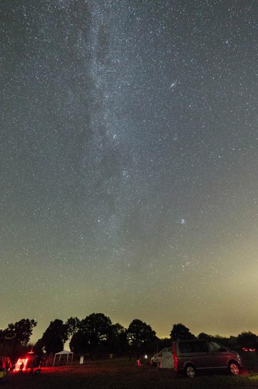 Die Milchstraße über dem SHT 2016 - Foto: Carsten Jonas